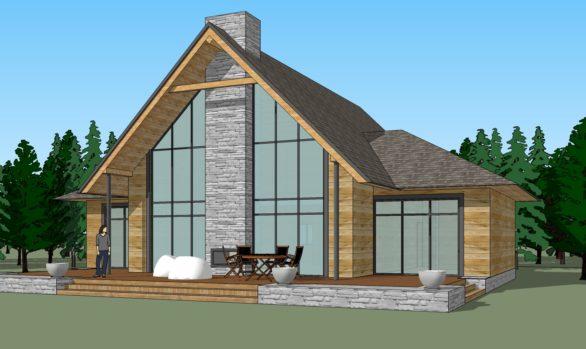 Дизайн загородного дома: дом в поселке Forpost
