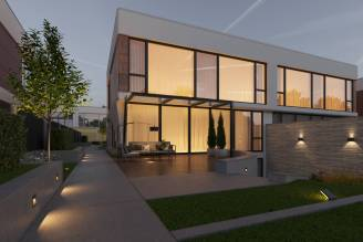 Architectural design of houses